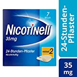 Nicotinell 35 mg / 24-Stunden- Nikotinpflaster, 7 St.: Pflasterstärke Mittel (2) – Das Nicotinell Nikotinpflaster mit der Steady-Flow Technologie hilft, das Rauchverlangen für 24 Stunden zu lindern