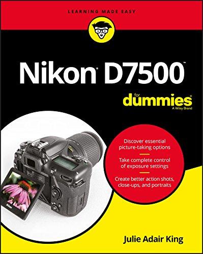 Nikon D7500 For Dummies (For Dummies (Computer/Tech)) por Julie Adair King