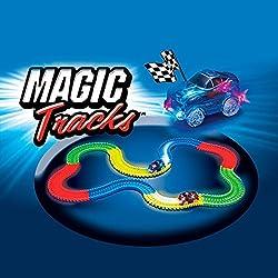 Shop Story–Magic circuito mágico Tracks Flexible luminoso fosforescente 240piezas Incroyablement fults y modulable que brille en el negro