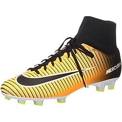 Nike Mercurial Victory VI DF FG Scarpe per allenamento calcio Uomo, Arancione (Laser Orange/Black/White/Volt), 44 EU(10 US)