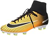 Nike Mercurial Victory VI DF FG Scarpe per allenamento calcio Uomo, Arancione (Laser Orange/Black/White/Volt), 41 EU(8 US)