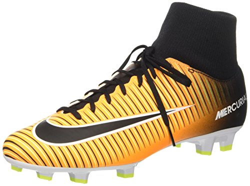 Nike Mercurial Victory Vi Df Fg, Chaussures de Football homme - Orange (Laser Orange/black/white/volt), 42 EU(8.5 US)