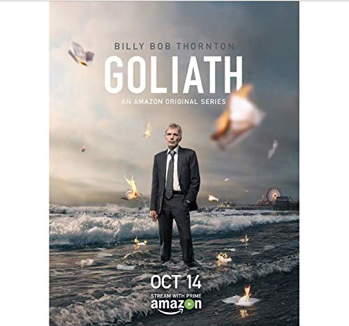 yhnjikl Poster e Stampe Goliath Hot Billy Bob Thornton Serie TV Poster Art Canvas Canvas Home Decor 40X60Cm Senza Cornice
