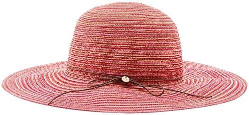ESPRIT Damen Sonnenhut 046EA1P005-Sehr Formstabil, Rosa (Pink Fuchsia 660), Small