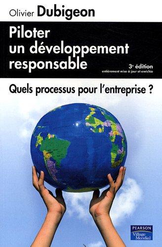Piloter un développement responsable: Quels processus pour l'entreprise ?