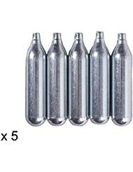 Militar-TLD Lote de bombonas de CO2 para airsoft (12 g, 5 unidades) Envio 24 horas
