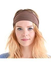 Casualbox Womens Japanese Elastic Headband Hair Band Accessory Sport
