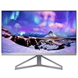 Philips 245C7QJSB/00 60,5 cm (23,8 Zoll) Monitor (VGA, HDMI,  1920 x 1080, 5 ms, ultraschmaler Rahmen), schwarz-silber