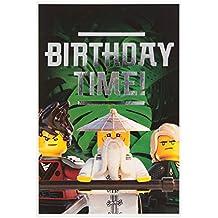 Carte Lego Auchan Livre.Amazon Fr Carte Anniversaire Lego