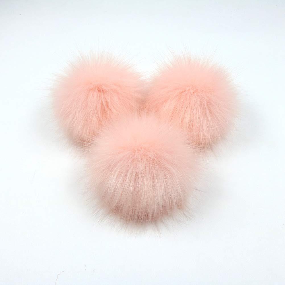 SUPVOX PON PON Pelliccia per Cappelli Borse Portachiavi Scarpe 12 Pezzi  (Ogni Colore con 2) 9603aba44b02