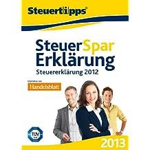 Steuer-Spar-Erklärung 2013 (für Steuerjahr 2012) [Download]