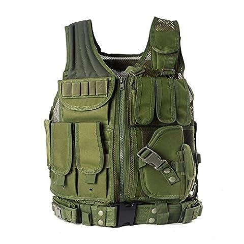 YAKEDA® Outdoor-Ausrüstung taktische Weste taktische Weste Armee Fans Feld für