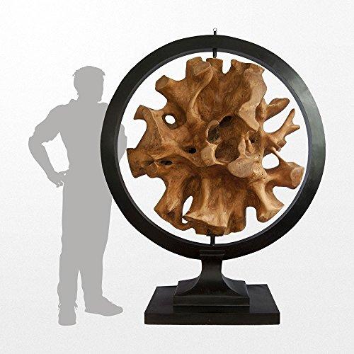 Atypik Home Sculpture Design en Racine de Teck et en métal 200 x 70cm