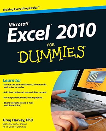 Book's Cover of Excel 2010 For Dummies