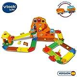 VTech- Playset Tut Bólidos Circuito montaña, Incluye a Wayne el Tren (80-191922) (3480-191922)