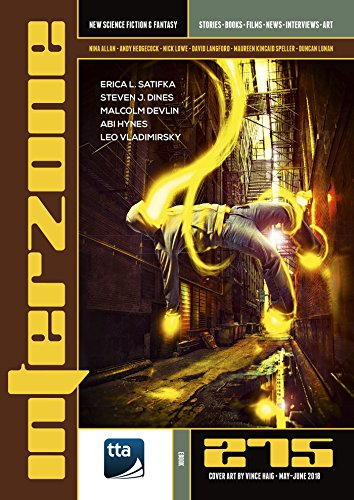 Interzone #275 (May-June 2018): New Science Fiction