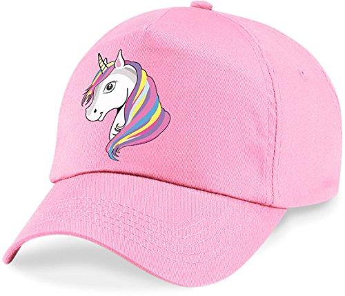 laylawson Einhorn-Baseballmütze Mädchen Kinder Sommer Hut (Einheitsgröße, Classic Pink)