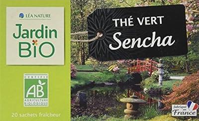 Jardin Bio Thé Vert Sencha 40 g - Lot de 4