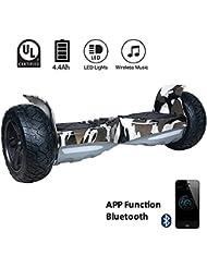 "EVERCROSS Hoverboard Challenger Basic 8,5"" Gyropode Tout-terrain Smart Skateboard Électrique (Camouflage)"