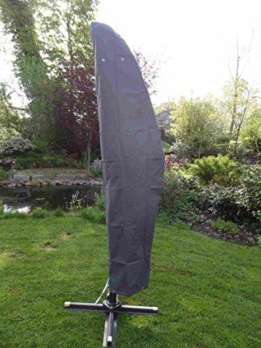 Spetebo Hochwertige Schutzhülle für Ampelschirm bis 400 cm - Material: Oxford 420D