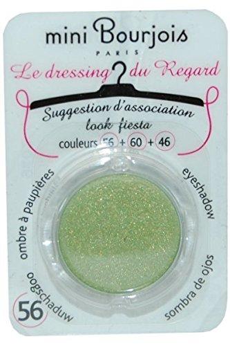 Ombre à Paupières Le Dressing du Regard Mini Bourjois - 56 Vert petillant