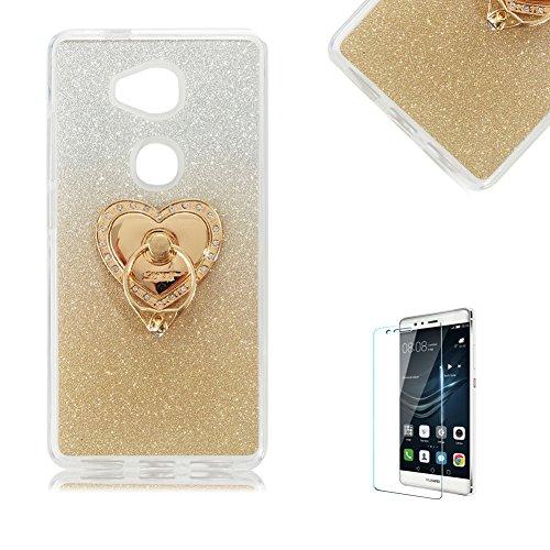 huawei-honor-5x-custodiafunyye-glitter-brillare-oro-graduale-cambiano-colore-stile-cover-con-pellico