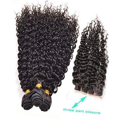 [Fabrik Direktvertrieb] Full Shine Kinky Curl Haar-Schuß Brazilian Unprocessed Human Hair Gemischte Länge 30+35+40CM Hair Weft mit 4