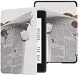 Funda Kindle Paperwhite Funda para Lectura de Perros Periódico o Revista Niños Funda Kindle Paperwhite Funda con Despertador automático/Reposo Funda Kindle Paperwhite Mujer 10a generación 2018