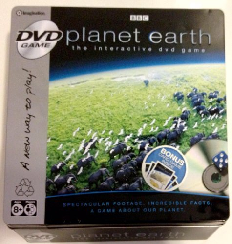 Planet Earth Tin with Card Pack DVD Game