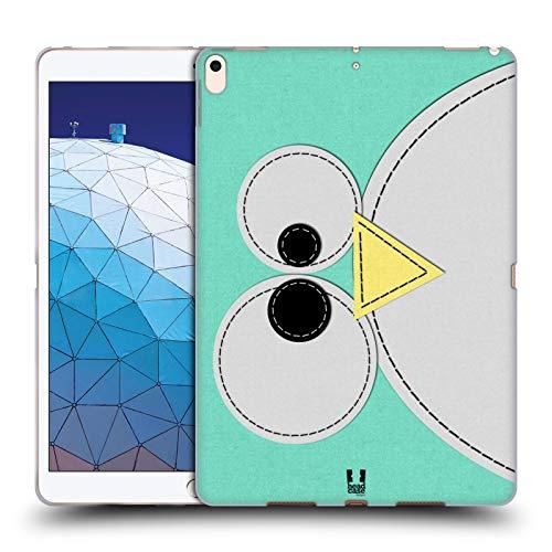 Head Case Designs Penguin Tier Flicken Serie 1 Soft Gel Huelle kompatibel mit iPad Air (2019) Penguin Gel