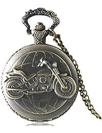 Moto estilo Custom Reloj a Gousset