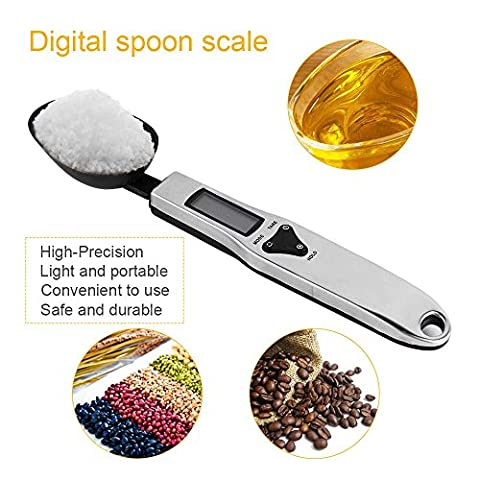 Expower Electronic LCD Digital Kitchen Spoon Scale