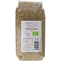 Nuteco Arroz Integral Largo BIO - 10 Paquetes de 1000 gr - Total: 10000 gr