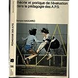 Théorie et pratique de l'évaluation dans la pédagogie des APS