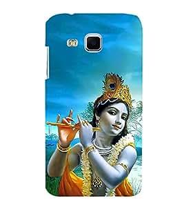 FUSON Kishna Playing Basuri 3D Hard Polycarbonate Designer Back Case Cover for Samsung Galaxy J3 (6) 2016 :: Samsung Galaxy J3 2016 Duos :: Samsung Galaxy J3 2016 J320F J320A J320P J3109 J320M J320Y