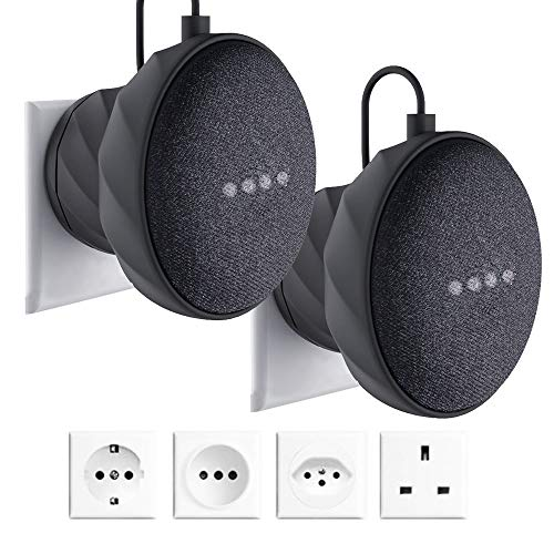 Soporte para Google Home Mini, Soporte de Pared Enchufe Wall Mount Stand para...