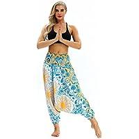 Varias Opciones están Disponibles Colorido Holgado Holgado Largo Pantalones de Yoga, Baile, Pantalones de harén, Pantalones Deportivos para Mujeres. Patrones Indios y tailandeses. (016)