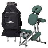 STRONGLITE Ergo Pro II Tragbarer Massagestuhl - Leichter, Faltbarer Tattoo & Spa Massagestuhl mit Rädern (8.5kg)