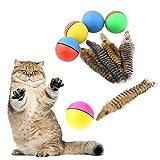 CricTeQleap Spielzeug f¨¹r Haustiere, Haustier-Hundekatzen-Simulations-Biber-Rollenspiel-Sprung-Ball-Wasserdichte Kinder, die Spielzeug