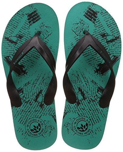 Woodland Men's Sgreen Flip Flops Thong Sandals - 9 UK/India (43 EU)  available at amazon for Rs.349