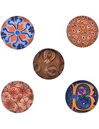 Morella–® Mujer de Click Button 5unidades Botones de presión Set Mix
