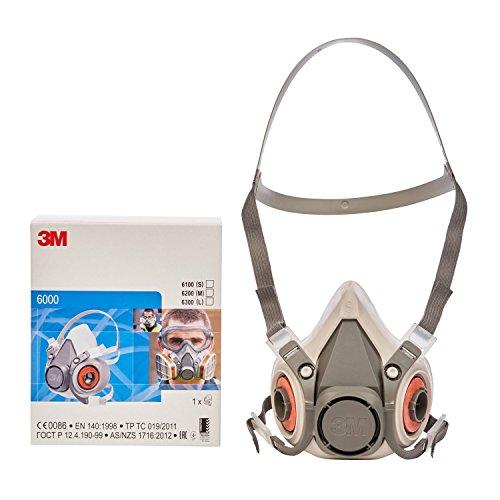 3m maschera anti gas anti fumo serie 6000 riutilizzabile small. Black Bedroom Furniture Sets. Home Design Ideas