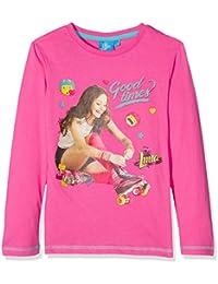 Soy Luna Ls T-Shirt, Top de Manga Larga para Niñas