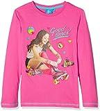 Soy Luna LS T-Shirt, Maglia a Maniche Lunghe Bambina, Rosa (Fuxia), 6 Anni