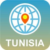 Túnez Mapa Desconectado