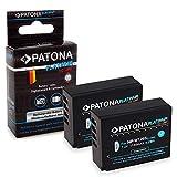 2X PATONA Batterie Platinum NP-W126S 1140mAh pour Fujifilm FinePix X-T20 | X-H1 qualité sûre et certifiée