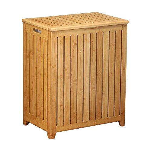 StarTec Oceanstar spa-Style Bambus Wäschesammler