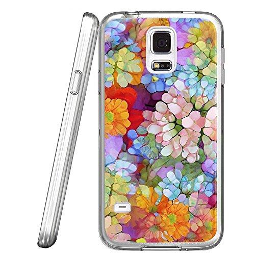 S5Case Freiheitsstatue Muster, laaco Kratzfest TPU Gel Gummi Soft Skin Silikon Schutz Case Cover für Samsung Galaxy S5, Galaxy (28) (Fall Gel S5 Galaxy Samsung)