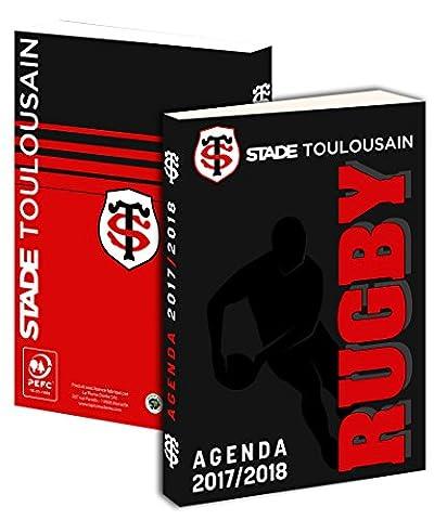 Agenda scolaire Toulouse 2017 / 2018 - Collection officielle Stade Toulousain - Rentrée scolaire - Rugby Top 14