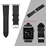 #7: iWatch Genuine Watch Band Strap By House of Quirk 42mm Breathable Style Replacement Band